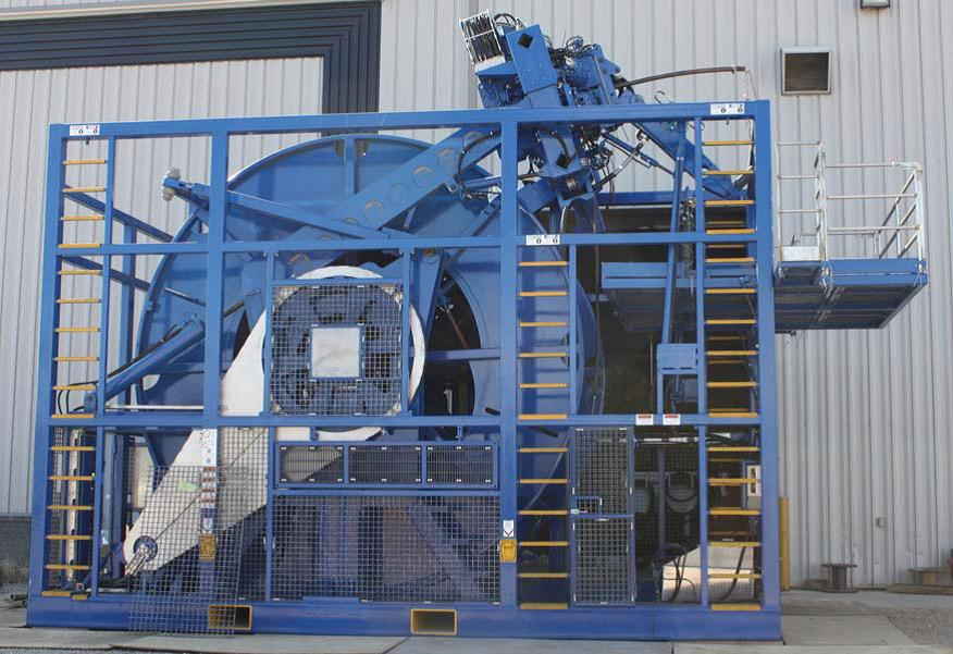Coil Tubing Units Reel : Coiled tubing unit rigfinder oil equipment uae